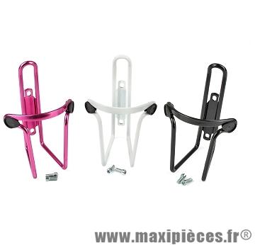 Porte bidon alu (pack de 12 porte bidons - 4 noirs / 4 blancs / 4 rouges) marque Leader - Accessoire vélo