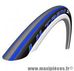 Déstockage ! Pneu vélo Schwalbe Ultremo ZX 700x23C HD Speed Guard noir et bleu (ETRTO 23-622)