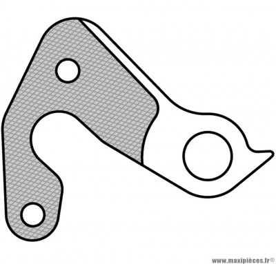 Patte de dérailleur n° 157 - Accessoire Vélo Pas Cher
