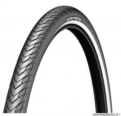 Pneu 700 x 35 protek noir bande réfléchissante marque Michelin