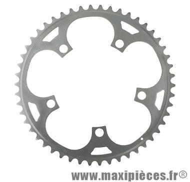 Plateau 50 dents dural diamètre 122mm marque Stronglight - Pièce vélo
