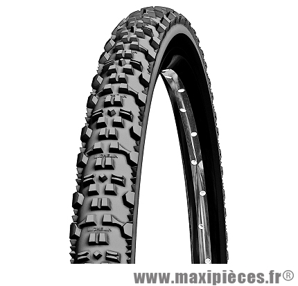 Pneu de vélo dimension 26 x 2,00 country a/t noir tr marque Michelin
