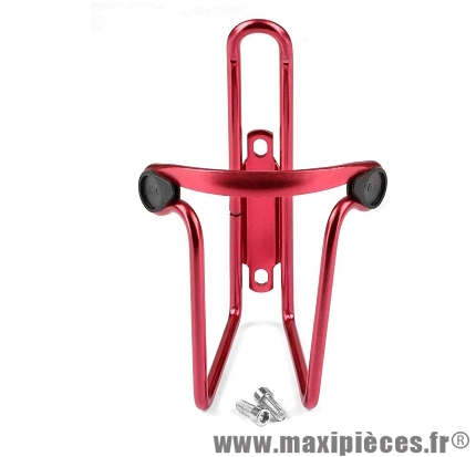 Porte bidon alu rouge marque Leader - Accessoire vélo