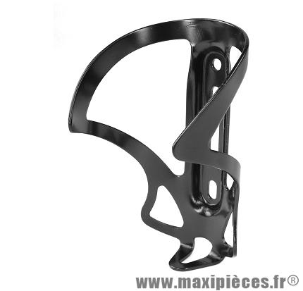 Porte bidon alu anodise noir marque Oktos - Accessoire vélo
