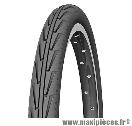 Pneu pour vélo de taille 20 x 1,75 diabolo city noir marque Michelin