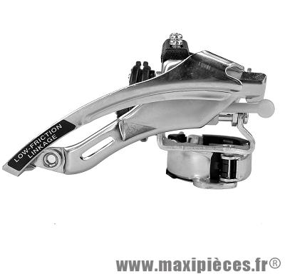Dérailleur avant VTT c50 diamètre 31,8/34,9mm collier bas 3x6-7-8 marque Shimano - Pièce vélo