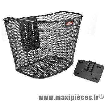 Panier avant maille + fixation basique guidon fixe marque Klickfix - Matériel pour Vélo