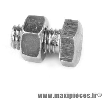 Boulon 6 pans 8x15 - Accessoire Vélo Pas Cher