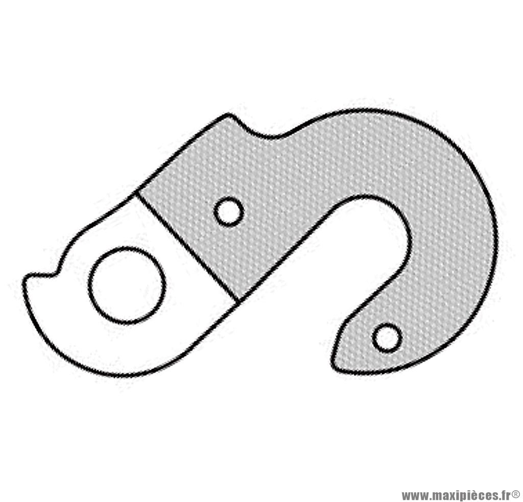 Patte de dérailleur n° 114 - Accessoire Vélo Pas Cher