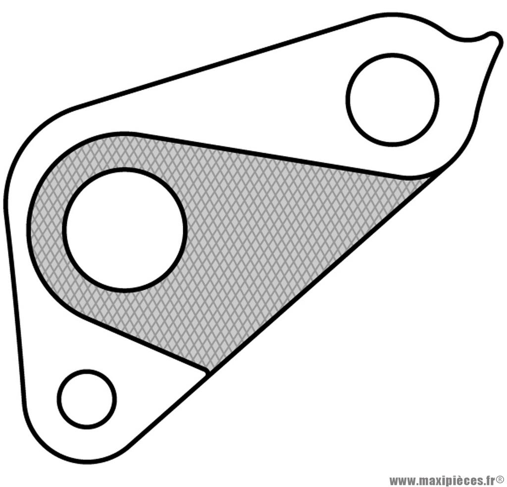 Patte de dérailleur n° 159 - Accessoire Vélo Pas Cher