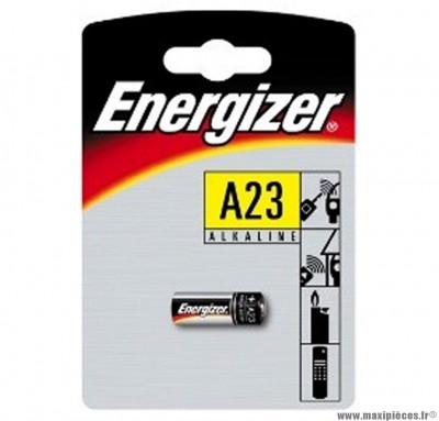 Pile e23a alcaline energizer 12 volts (blister de 1) - Accessoire Vélo Pas Cher