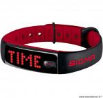 Bracelet activo connecte noir et rouge marque Sigma- Equipement cycle