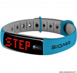 Bracelet activo connecte bleu marque Sigma- Equipement cycle