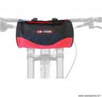 Sacoche de vélo fixation cintre noir marque Oktos- Equipement cycle