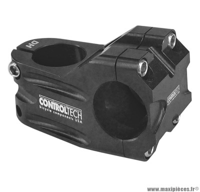 Potence dh pivot diamètre 28,6 / guidon diamètre 31,8mm 253 grammes l50mm marque Controltech - Pièce vélo