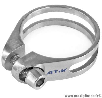Collier de selle full titane diamètre 31,8mm 13 grammes marque Token - Pièce vélo
