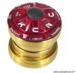 Jeu de direction externe headset radiant r3 rouge marque KCNC - Pièce vélo