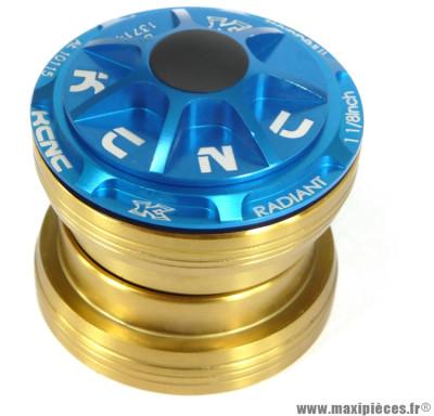 Jeu de direction externe headset radiant r3 bleu marque KCNC - Pièce vélo