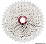 Cassette 10 vitesses 11-42 champagne marque Sunrace - Pièce vélo