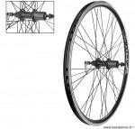 Paire de roues VTT/VTC 26 pouces double paroies a cassette 8-9 vitesses - Accessoire Vélo Pas Cher