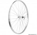 Roue avant VTT 28 pouces simple paroie a blocage couleur alu - Accessoire Vélo Pas Cher