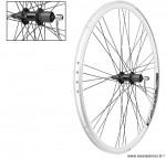 Paire de roues 28 pouces double paroies a cassette 8-9 vitesses - Accessoire Vélo Pas Cher