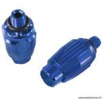 Ajusteur de câble bleu 6 grammes marque Token - Matériel pour Vélo