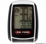 Compteur (20 fonctions) sans fil marque Oktos - Accessoire vélo