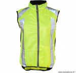 Gilet vélo sans manches fluo dark jacket 1 (taille S) marque Wowow- Equipement cycle