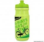 Bidon 100% bio-natural vert 550 ml marque Polisport- Equipement cycle