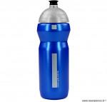 Bidon 750 ml valve automatique type camelback bleu marque WTP- Equipement cycle