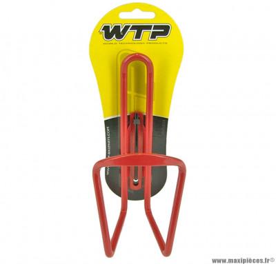 Porte bidon rouge marque WTP - Accessoire vélo