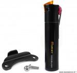 Mini pompe a main torch regular VTT presta/dunlop marque Airace - Accessoire vélo