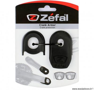 Embout de protection pour manivelle de pédalier zefal noir - Accessoire Vélo Pas Cher