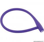Antivol vélo a clé kabana violet 740mm marque Knog - Accessoire vélo