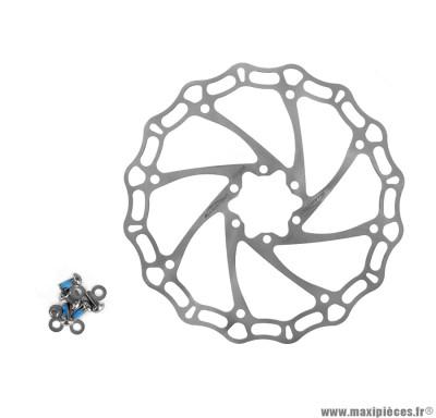 Disque frein crown 203mm 142 grammes marque Alligator - Matériel pour Vélo