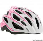 Casque adulte urbia rose - blanc 54-59 marque Polisport- Equipement cycle