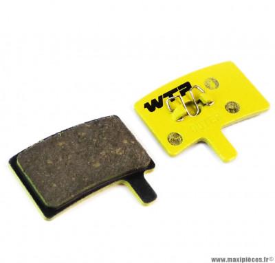 Plaquette de frein vélo compatible hayes stroker trail marque WTP