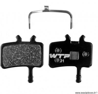 Plaquette de frein vélo élite semi-métal compatible avid all juicy et meca bb7 marque WTP - Matériel pour Vélo