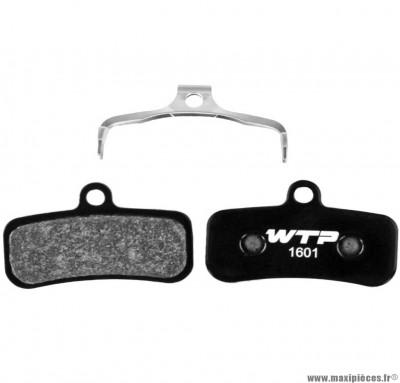 Plaquette de frein vélo élite semi-métal compatible shimano saint 4 pistons marque WTP - Matériel pour Vélo
