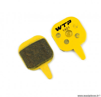 Plaquette de frein vélo compatible tektro io marque WTP - Matériel pour Vélo