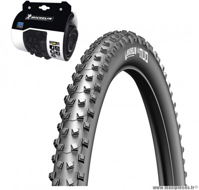 Pneu pour vélo taille 29 x 2,00 wildmud advanced tubeless ready souple marque Michelin