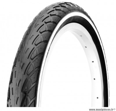 Pneu de vélo pour VTC 26 x 1,75 anticrevaison 2,5mm marque Deli Tire