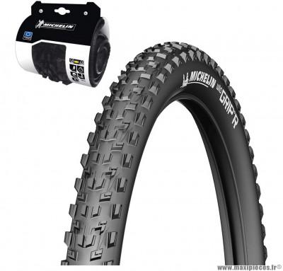 Pneu vélo de dimension 27,5x2,25 wildgrip'r2 advanced tringle souple marque Michelin