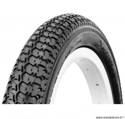 Pneu de vélo pour enfant 12 pouces 1/2 x 1,75 x 2 1/4 noir marque Deli Tire