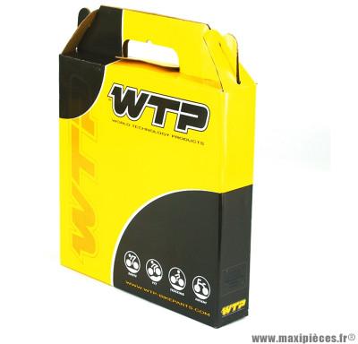 Gaine dérailleur diamètre 4mm noir (boite de 30m) (v726a) marque WTP - Matériel pour Vélo