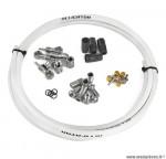 Kit durite compatible shimano deore xt / deore grimeca blanc marque Alligator - Pièce vélo