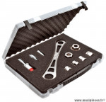 Kit valise démonte boitier pédalier et cassette (6 pièces) marque Weldtite - Accessoire vélo