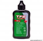 Lubrifiant tf2 plus dry burette 75ml marque Weldtite - Accessoire vélo