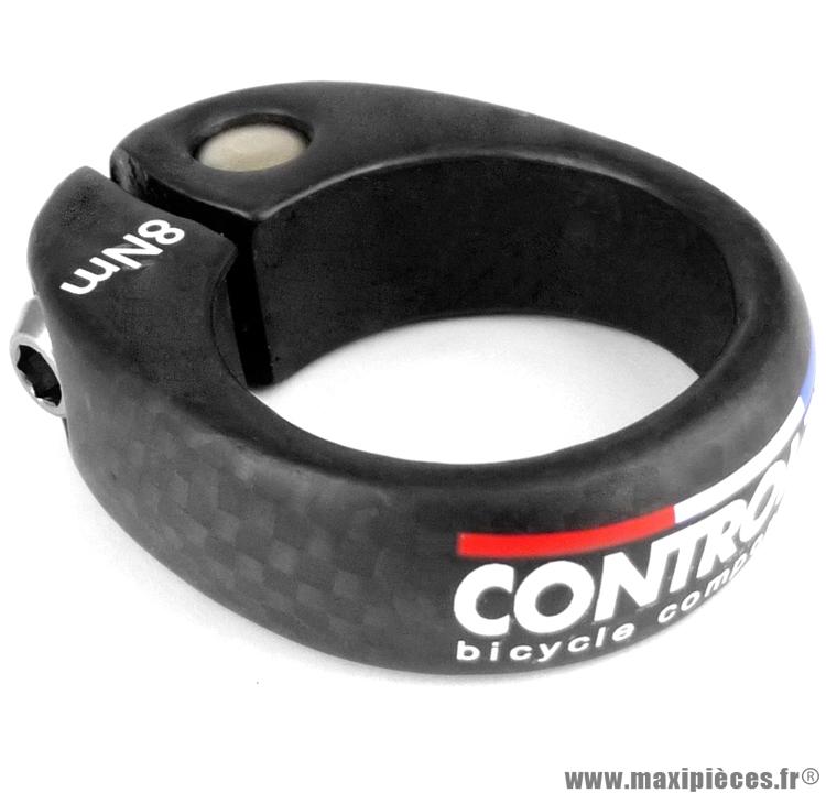 Serrage de selle comp sc diamètre 31,8mm carbone vis ti marque Controltech - Matériel pour Vélo